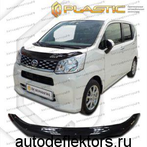 Дефлектор капота Classic черный Daihatsu Move 2014- н.в.