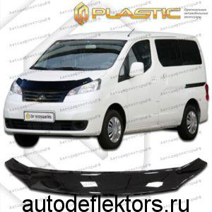 Дефлектор капота Classic черный Mitsubishi Delica D:3 2011-2019