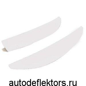 Реснички на фары Калина (прямая) белый