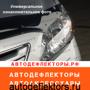 Защита на фары SIM для Toyota LC Prado 150, 09-13,  прозрачный